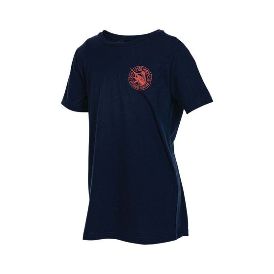 The Mad Hueys Catch of the Day Short Sleeve Tee, Navy, bcf_hi-res