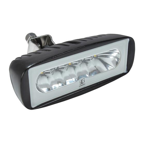 Lumitec Caprera2 Bracket Mount Dimmable LED Floodlight Black, , bcf_hi-res
