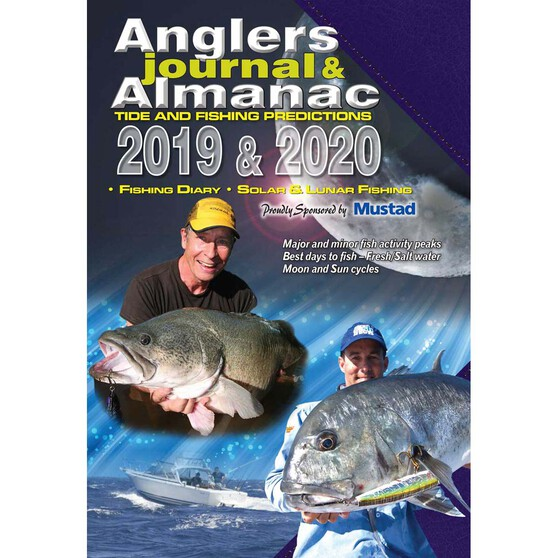 AFN 2020 Anglers Journal and Almanac, , bcf_hi-res