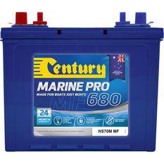 Century Marine Pro Battery - MP680 / NS70M MF, 680CCA, , bcf_hi-res