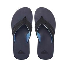 Quiksilver Waterman Mens Island Oasis Sandal Blue / Black 8, Blue / Black, bcf_hi-res