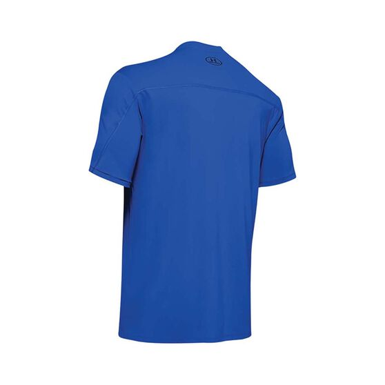 Under Armour Men's Iso-Chill Fish Hook Short Sleeve Tee Versa Blue / Black L, Versa Blue / Black, bcf_hi-res