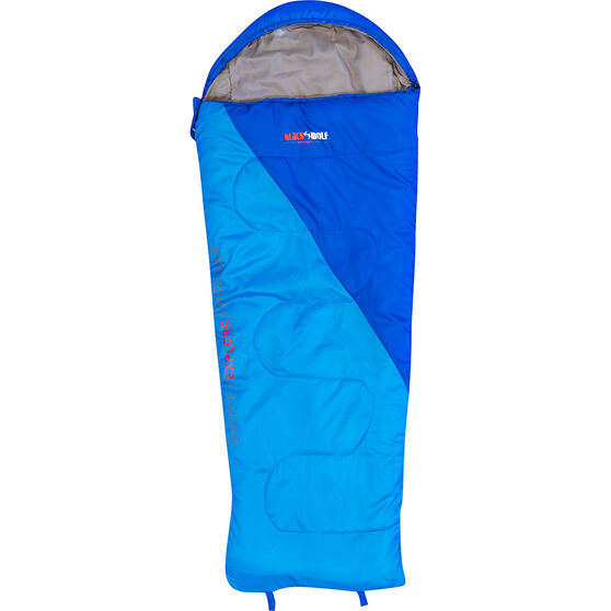 Blackwolf Star 500 Sleeping Bag Blue, Blue, bcf_hi-res