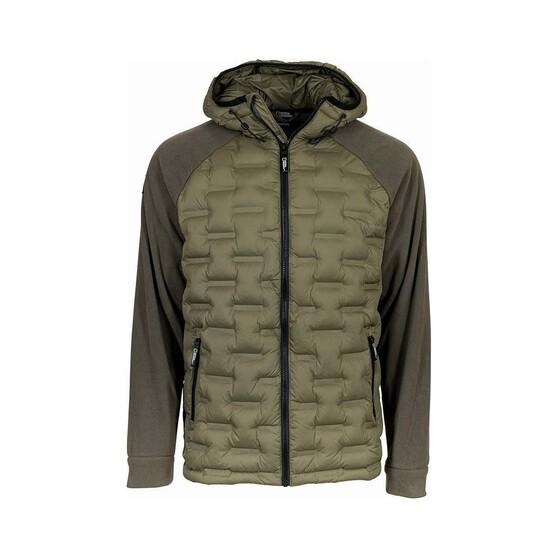National Geographic Men's Hybrid Jacket, Green, bcf_hi-res