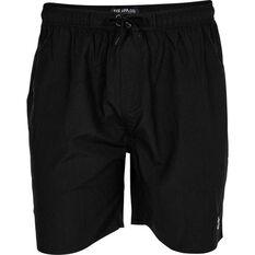 Tide Apparel Men's Anchor Boardshorts Black 32, Black, bcf_hi-res