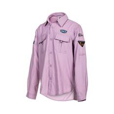 BCF Youth Long Sleeve Fishing Shirt, Orchid, bcf_hi-res