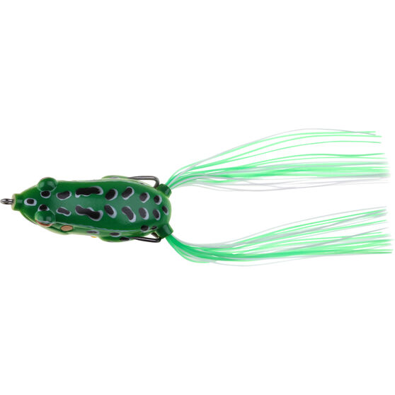 Savage 3D Lily Ninja Frog Surface Lure 5.5cm Green, Green, bcf_hi-res