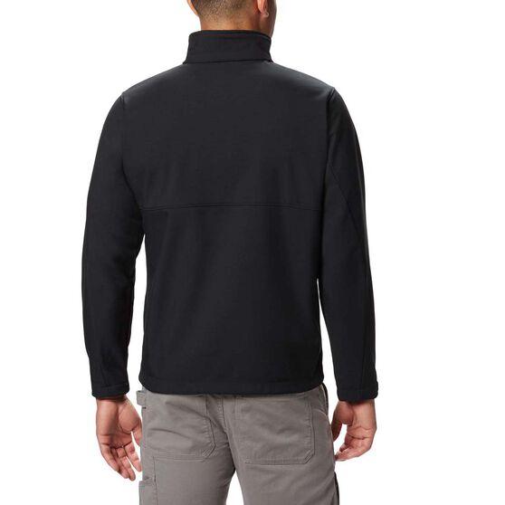 Columbia Men's Ascender Soft Shell Jacket, Black, bcf_hi-res