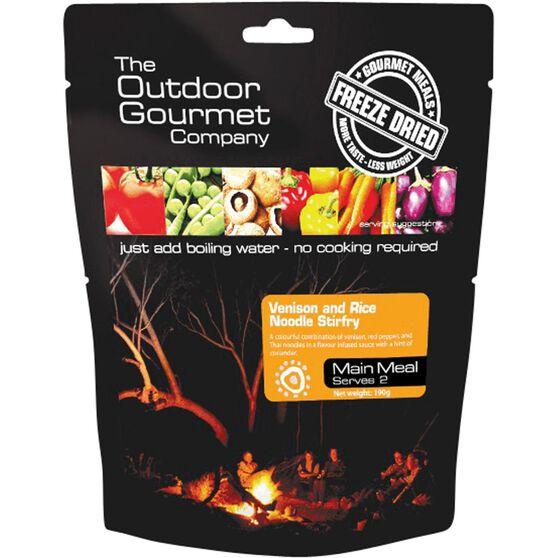 Outdoor Gourmet Company Venison Stir Fry 2 Serves, , bcf_hi-res