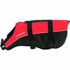 Marlin Australia PFD Dog Floatation Vest, Red / Black, bcf_hi-res