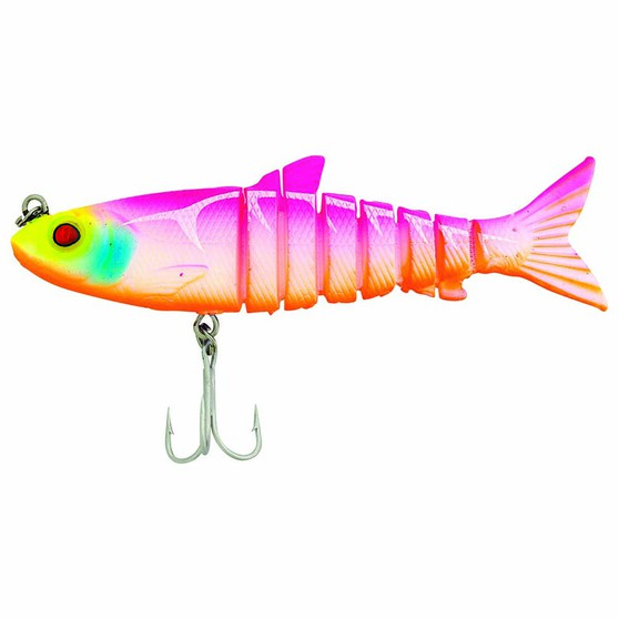 Zerek Live Mullet Soft Plastic Lure 5.5in Fat Betty, Fat Betty, bcf_hi-res