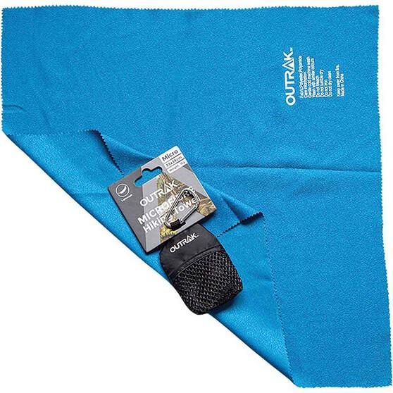 OUTRAK Hiking Micro Towel Blue, Blue, bcf_hi-res
