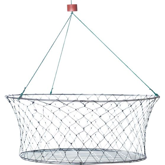 Neptune Wire Base Mesh Double Ring Crab Net, , bcf_hi-res