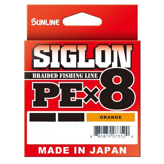 Sunline Siglon Orange Braid Line 300m, , bcf_hi-res
