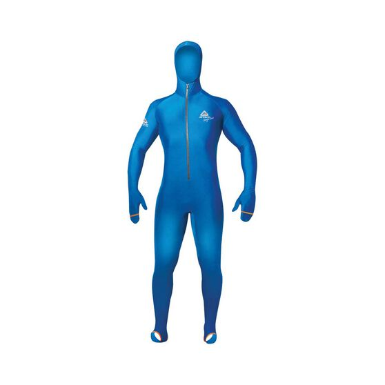 Adrenalin Junior Hooded Lycra Stinger Suit, Blue, bcf_hi-res