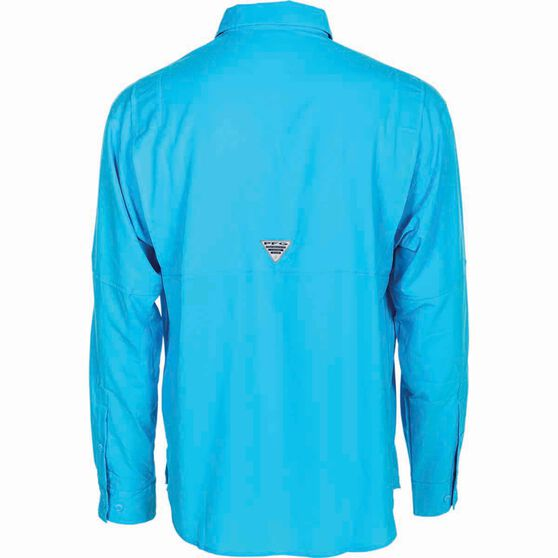 Columbia Men's Tamiami II Long Sleeve Shirt, Riptide, bcf_hi-res