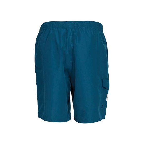 Quiksilver Waterman Men's Balance Volley Shorts, Majolica Blue, bcf_hi-res