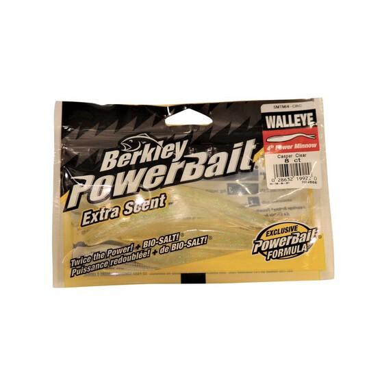 Berkley PowerBait Dropshot Minnow Soft Plastic Lure 3in Casper, Casper, bcf_hi-res