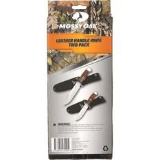 Mossy Oak Leather Handle Knives 2 Pack, , bcf_hi-res