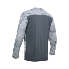 Under Armour Men's Shore Break Iso-Chill Sublimated Shirt Pitch Grey / Halo Grey XL, Pitch Grey / Halo Grey, bcf_hi-res