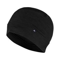 Macpac Unisex Merino 150 Beanie Black S, Black, bcf_hi-res