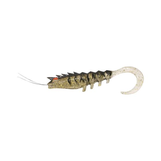 Squidgies Prawn Wriggler Soft Plastic Lure 110mm Black Gold, Black Gold, bcf_hi-res