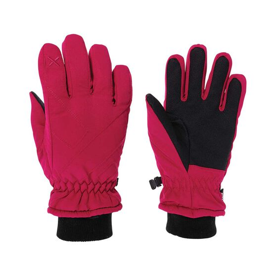 XTM Kids' X Press II Kids Gloves, Hot Pink, bcf_hi-res