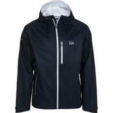 Men's Rain Jacket Black S, Black, bcf_hi-res