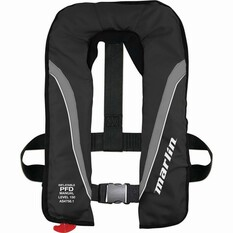 Marlin Australia Inflatable Adult Explorer 150 PFD Black, Black, bcf_hi-res