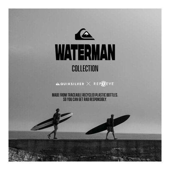 Quiksilver Waterman Men's Liberty Triblock 19 Boardies, Blue, bcf_hi-res