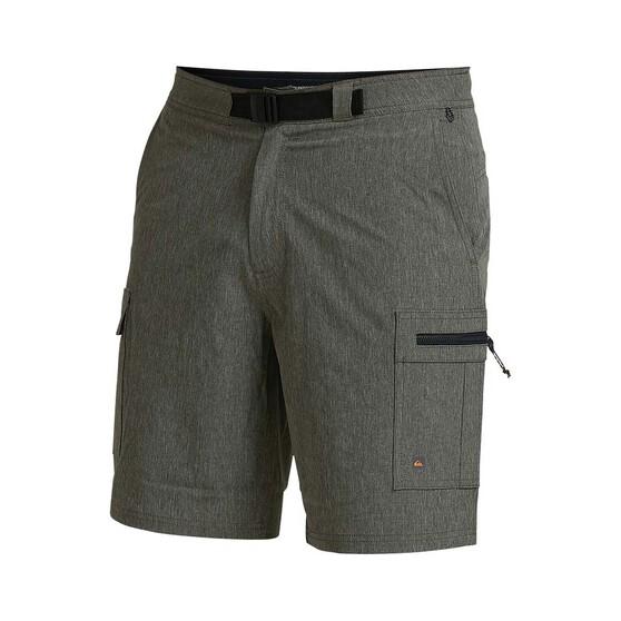 Quiksilver Waterman Men's Captain Amphibian Shorts, Forest Night, bcf_hi-res