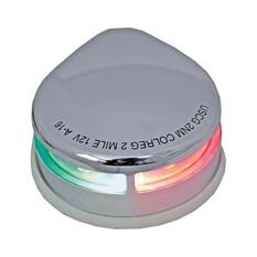 RWB LED Navigation Lights Stainless Steel 12V Horizontal Port and Starboard 2 Pack, , bcf_hi-res