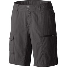 Columbia Women's Silver Ridge Cargo Shorts Grill / Grey 4, Grill / Grey, bcf_hi-res