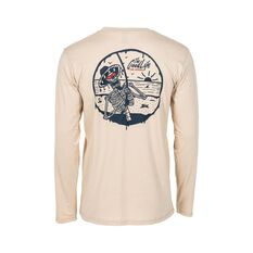 Tide Apparel Men's Good Life Long Sleeve Tee Cream S, Cream, bcf_hi-res