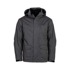 OUTRAK 3 in 1  Jacket - Mens, Black, S Dark Grey S, Dark Grey, bcf_hi-res