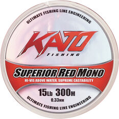 Superior Mono Line 300m 300m 6lb Red, , bcf_hi-res