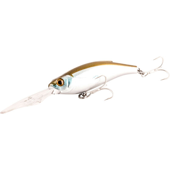 Atomic Hardz Shiner Deep Hard Body Lure 100mm Silver Wolf 100mm, Silver Wolf, bcf_hi-res