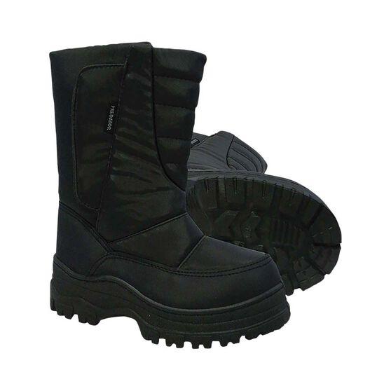 XTM Men's Predator Snow Boots Black 45, Black, bcf_hi-res