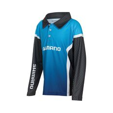 Shimano Corp Kids' Sublimated Polo, , bcf_hi-res