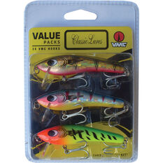 Just Under Hard Body Lure 80mm 3 Pack, , bcf_hi-res