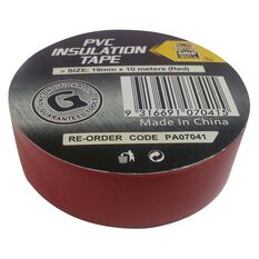 Gripwell PVC Electrical Tape 19mm x 10m, , bcf_hi-res