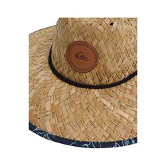 Quiksilver Waterman Men's Outsider Straw Hat Midnight Blue S / M, Midnight Blue, bcf_hi-res