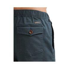 Quiksilver Waterman Men's Cabo Shore Cotton 19 Shorts, Navy Wash, bcf_hi-res