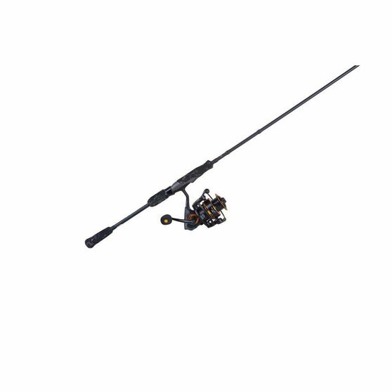Savage Black Spinning Combo 6ft 10in 2-4kg 2 Pieces, , bcf_hi-res