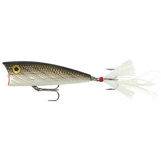 Rebel Teeney Pop-R Surface Lure 2in Tennessee Shad, Tennessee Shad, bcf_hi-res