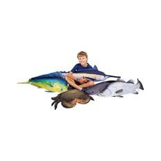 Gaby Fish Pillow Blue Marlin 118cm, , bcf_hi-res