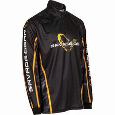 Savage Men's Corporate Sublimated Polo Black XL, Black, bcf_hi-res