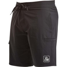 The Mad Hueys Men's Estuary Boardshorts 19in Black 30, Black, bcf_hi-res