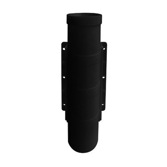 Blueline Boat Rod Holder Side Mount Black, Black, bcf_hi-res