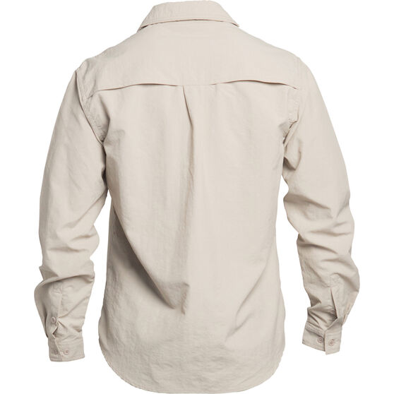 Explore 360 Men's Vented Long Sleeve Fishing Shirt Taupe 4XL, Taupe, bcf_hi-res